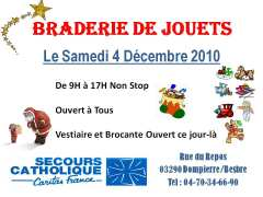photo de Braderie de Jouets du Secours Catholique